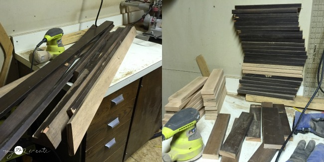 cutting drawer fronts