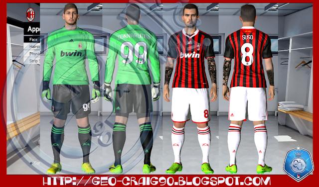 PES 2017 AC Milan Season 2009-10 HD by Geo_Craig90