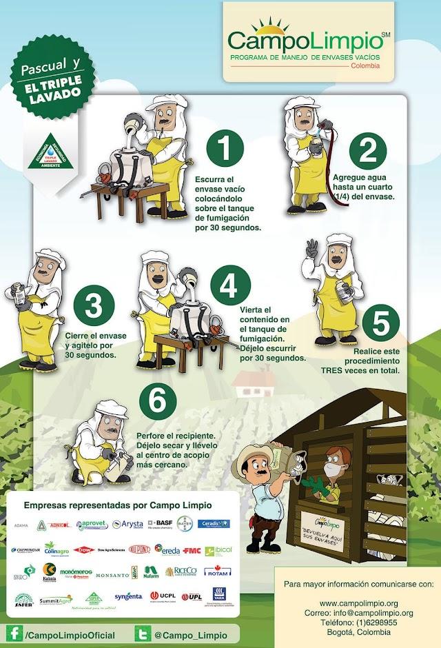 Reciclatón de envases de agroquímicos en Facatativá