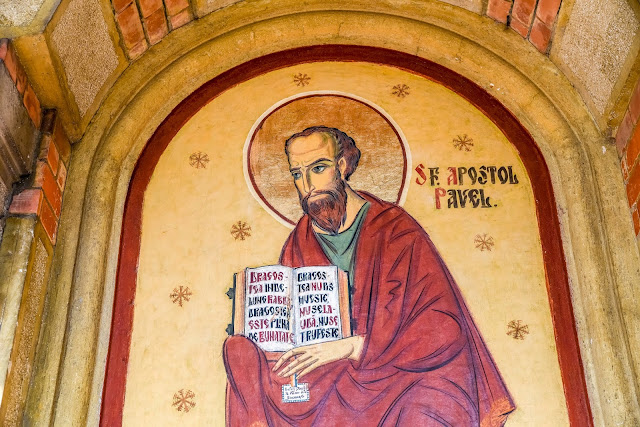 Stained-Glass of the Apostle Paul