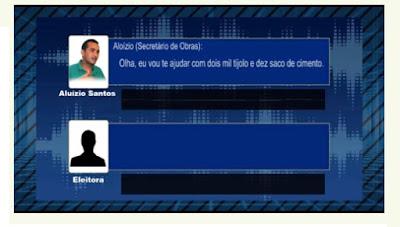 Brasília: TSE confirma validade de gravação como prova de compra de votos e complica situação de Belezinha