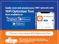 Download the WiFi Optimiser Tool app today!