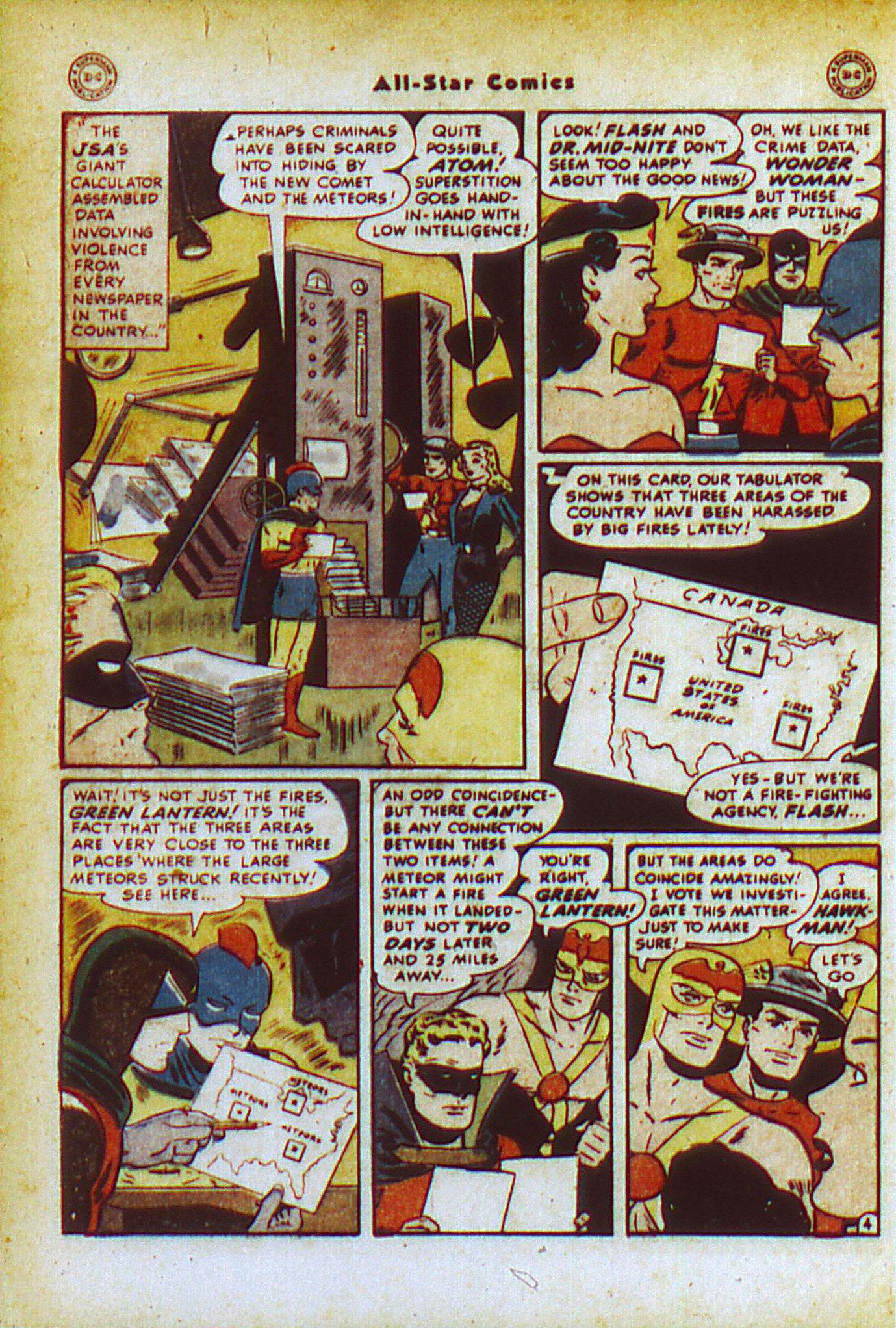 Read online All-Star Comics comic -  Issue #49 - 6