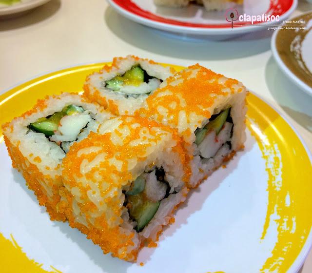 California Maki from Genki Sushi