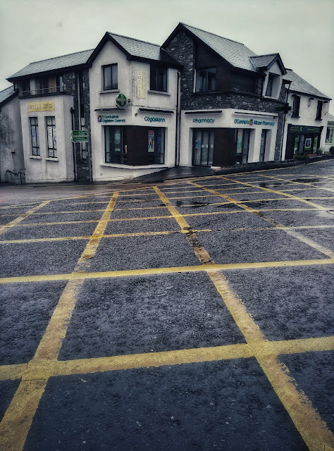 The pharmacy in Moycullen on the main road