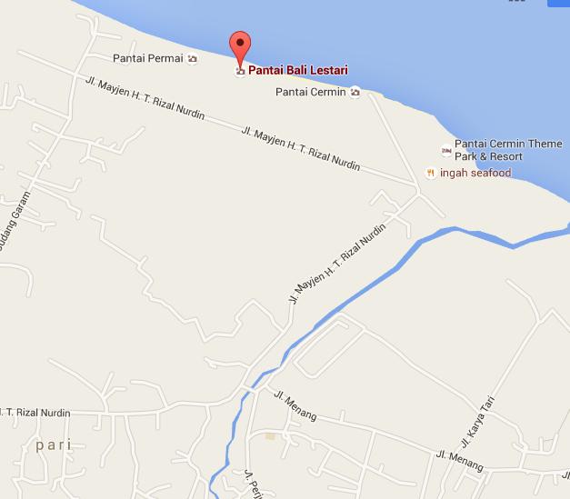 94+ Contoh Denah Jalan Pantai Bali Lestari Terpopuler