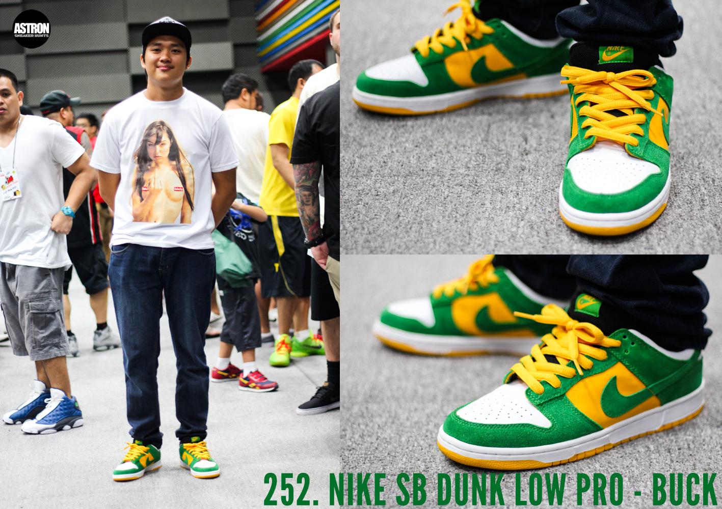 Astron Sneaker Hunts  252. Nike SB Dunk Low Pro - Buck