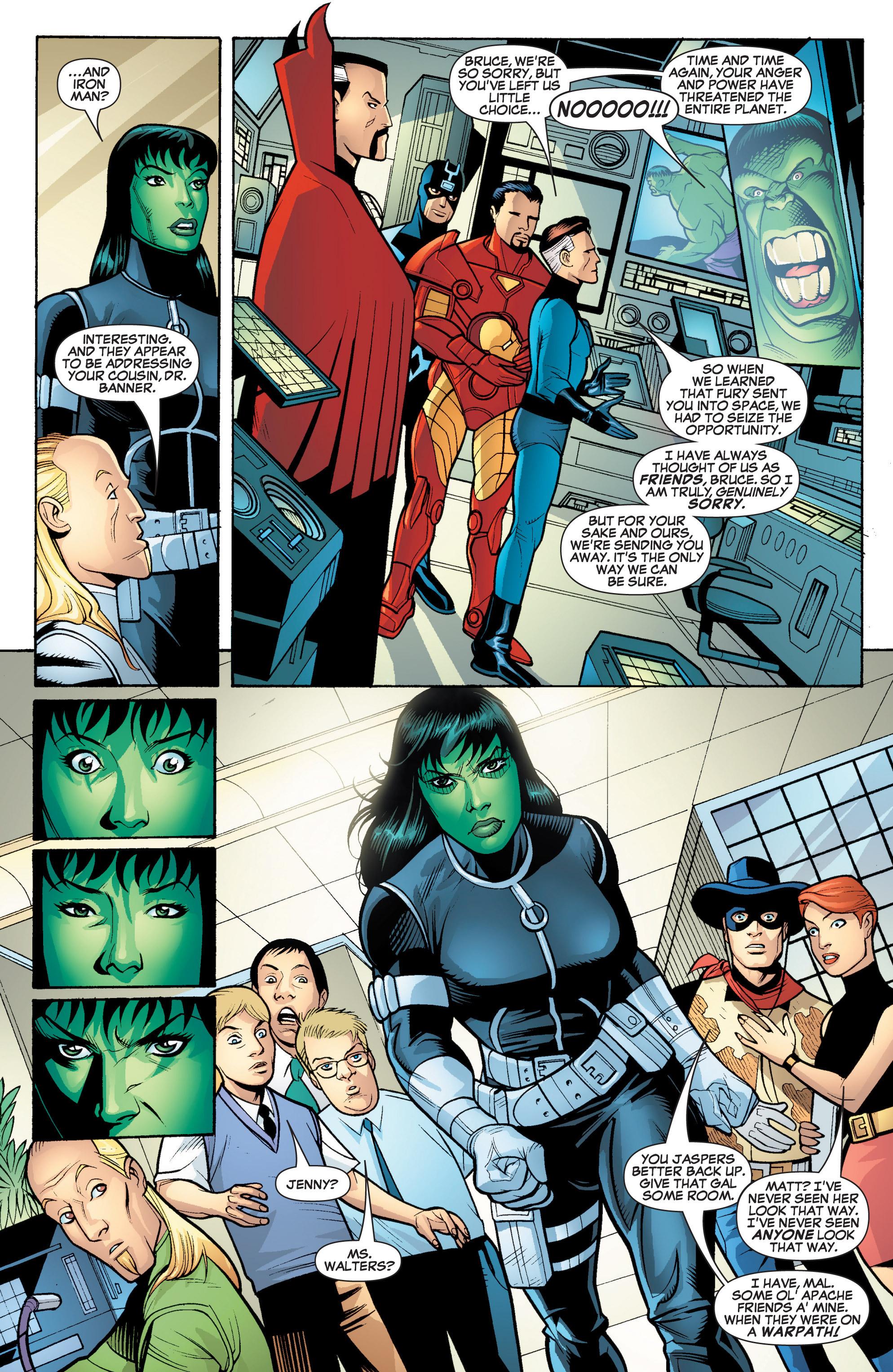 Read online She-Hulk (2005) comic -  Issue #18 - 12