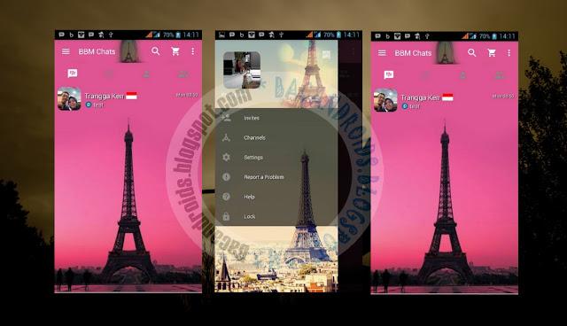 download BBM Mod Tema Menara Eiffel Paris Apk Versi 2.13.0.26 Clone
