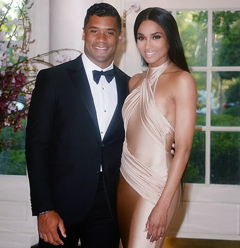 Ciara and Russel Wilson confirm dating stories at White House dinner