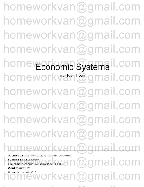 An Essay On Science The Following Is Plagiarism Report For Compare And Contrast Essay A  Comparison Of Capitalism And Socialism Economic Systems Essay  By  Homeworkvan Health Essay also High School Admission Essay Sample Homeworkvan Official Blog Compare And Contrast Essay A Comparison  Thesis Examples For Essays