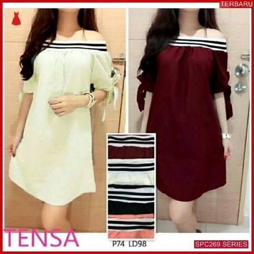 SPC269D40 Dress Tensa Terbaru Dress Wanita | BMGShop
