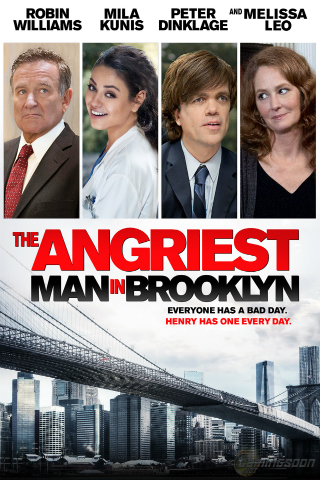 The Angriest Man In Brooklyn [2014] [DVDR] [NTSC] [Latino]