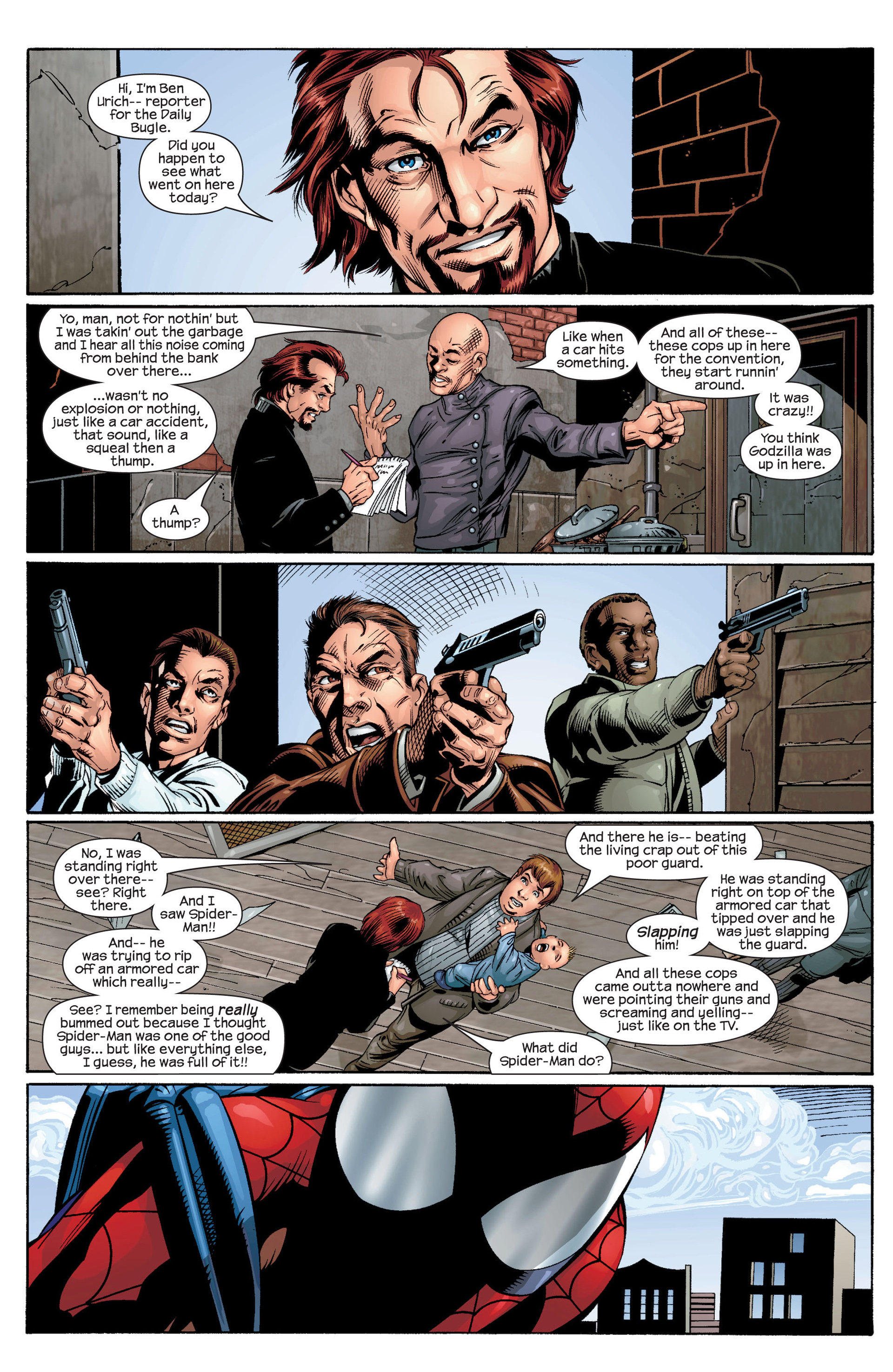 Read online Ultimate Spider-Man (2000) comic -  Issue #31 - 14
