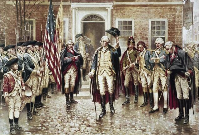 George Washington Leaves Fraunces Tavern