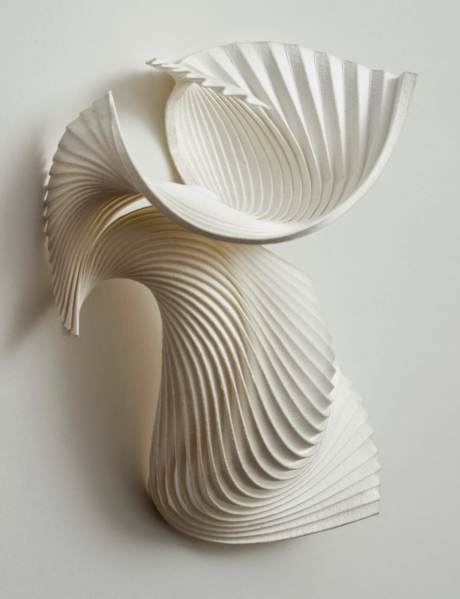 Simply Creative Paper Sculptures by Richard Sweeney