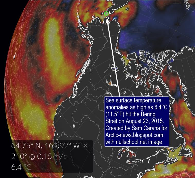 Arctic News: The Mechanism leading to Collapse of