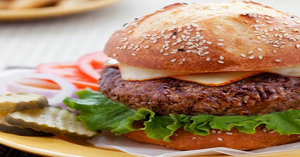 Juicy Steakhouse Burgers Recipe