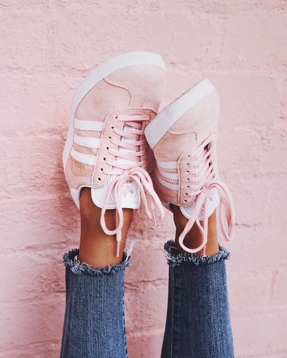 pastel adidas shoes