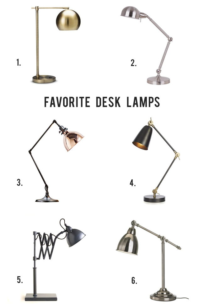 The Best Modern Desk Lamps, via Bubby and Bean
