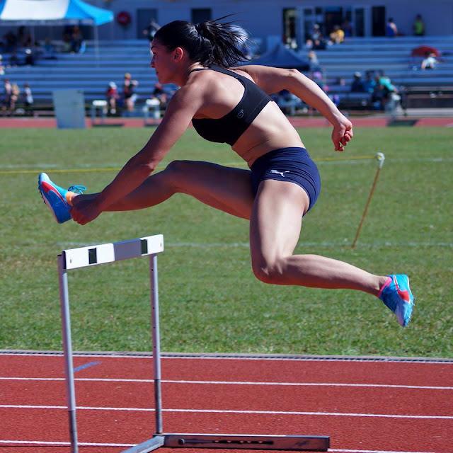 Foto Michelle Jenneke Cantik, Paha, Atlet, Seksi