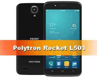 harga hp Polytron Rocket L501