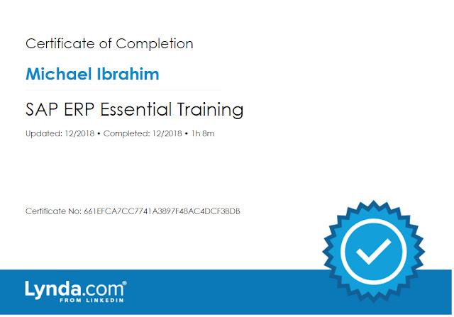SAP ERB essential training