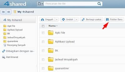 Buat folder baru