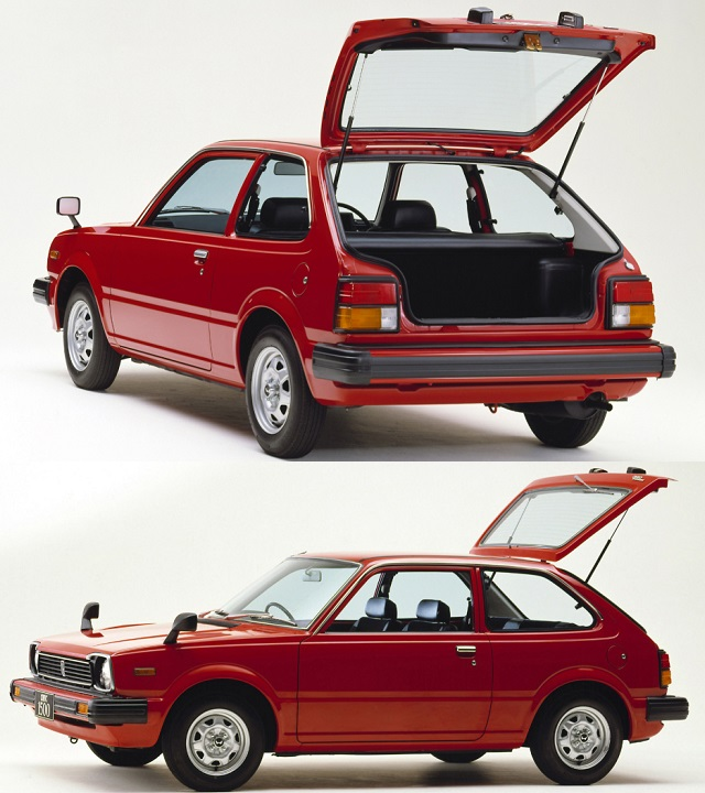 1980 Second Generation Honda Civic 1500 GL hatchback Red