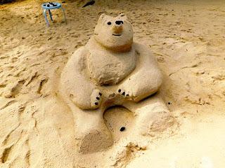 bliss beach, #payabay, #payabayresort, paya bay resort, bliss beach, sand sculpture, memories, 2018,