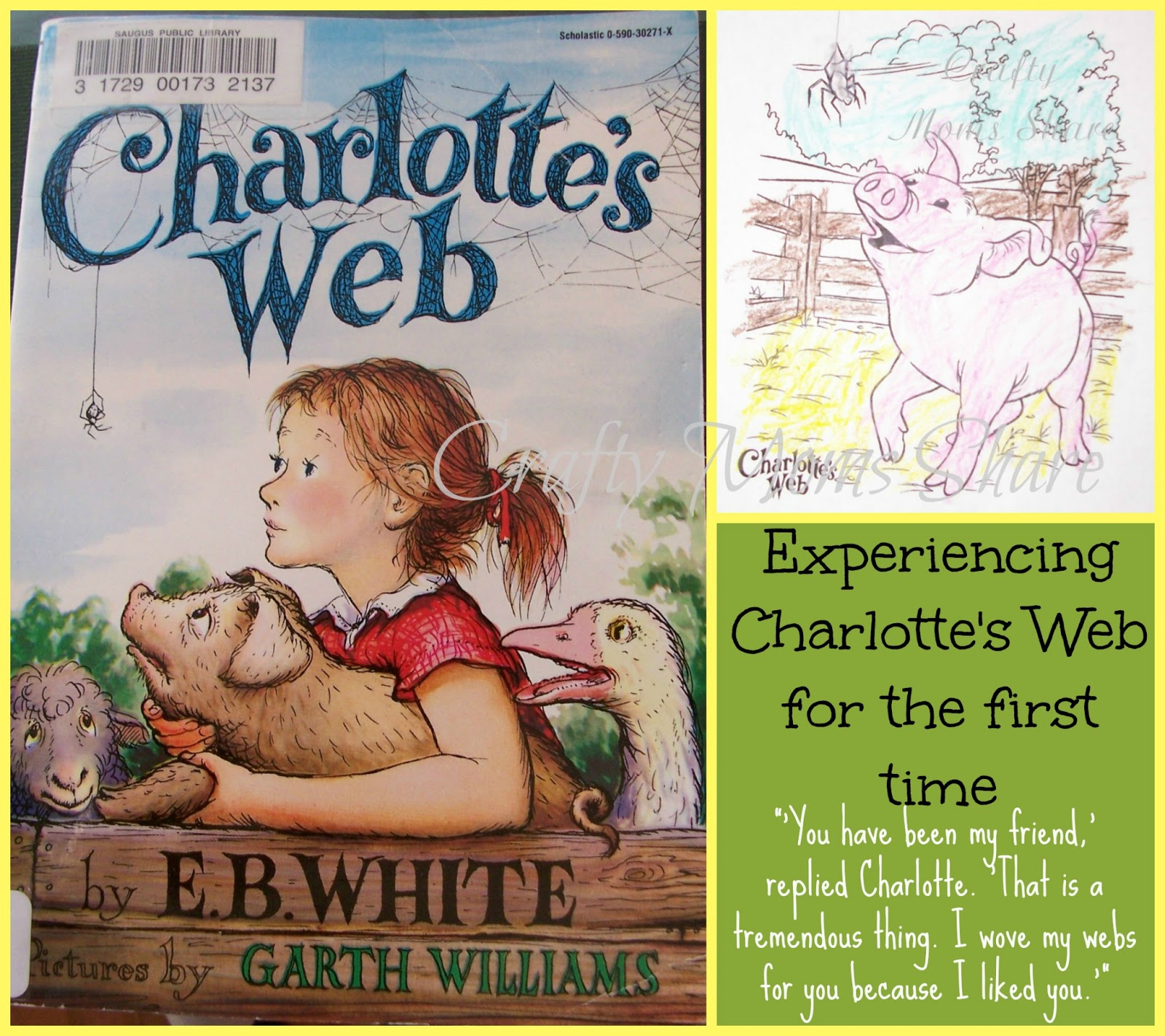 Crafty Moms Share Friendship With Charlotte S Web