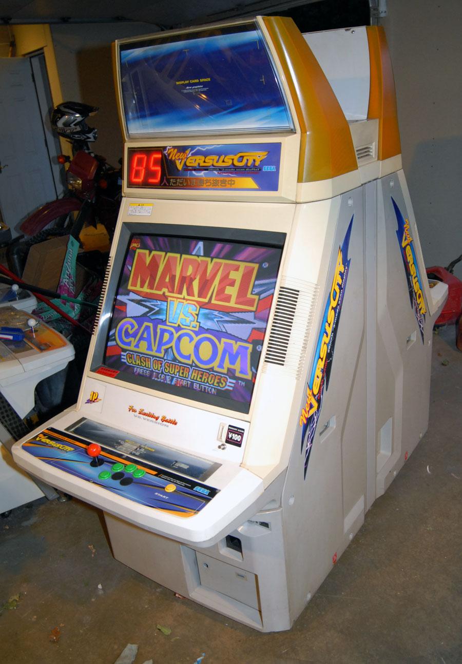 New Versus City Arcade Cabinet