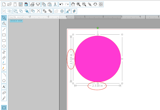 draw perfect circle in silhouette studio, silhouette studio beginner tutorials, silhouette cameo 3, silhouette studio vinyl tutorials