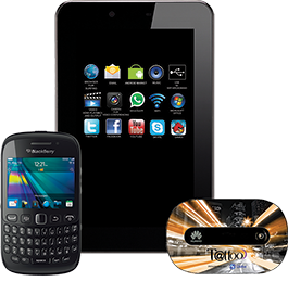 Globe Tattoo offers Skyworth s73 tablet, Blackberry and Mobile Wi-Fi