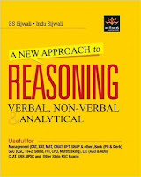 A New Approach to Reasoning Verbal & Non-Verbal (Arihant) by BS Sijwali.: Ibps exam books