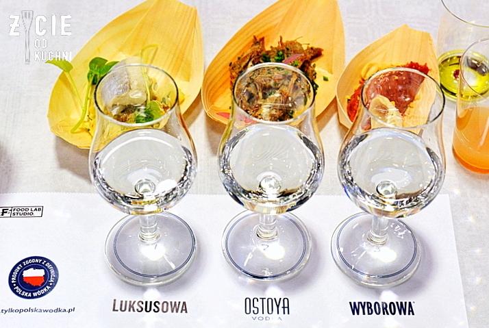 polska wodka, wodka, degustacja wodki, ostoja, wyborowa, luksusowa, food lab studio, grzegorz lapanowski, stara zajezdnia krakow