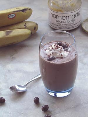 Single Serve Chocolate Peanut Butter Banana Slurry