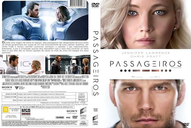 Capa DVD Passageiros [Custom]