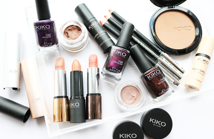 Makeup Review & Swatches: Big KIKO Sales Haul - Nail Lacquers, Lipsticks, Lipliners, Dark Circle Concealers, Cream Crush Eyeshadows + Bronzer!