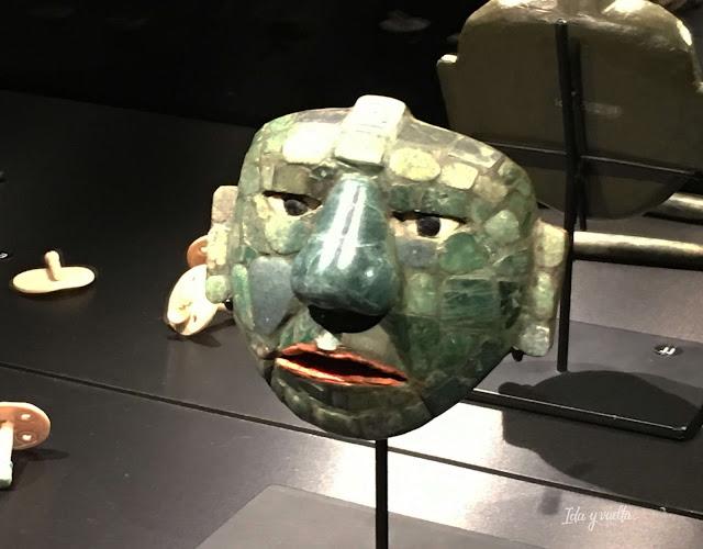 Máscara de jade mayas