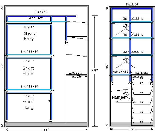 Standard Bedroom Closet Depth Memsaheb Net. standard bedroom closet dimensions   memsaheb net
