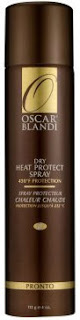 Click here to buy OSCAR BLANDI PRONTO DRY HEAT PROTECT SPRAY, one of the best for protecting natural hair during heat styling.