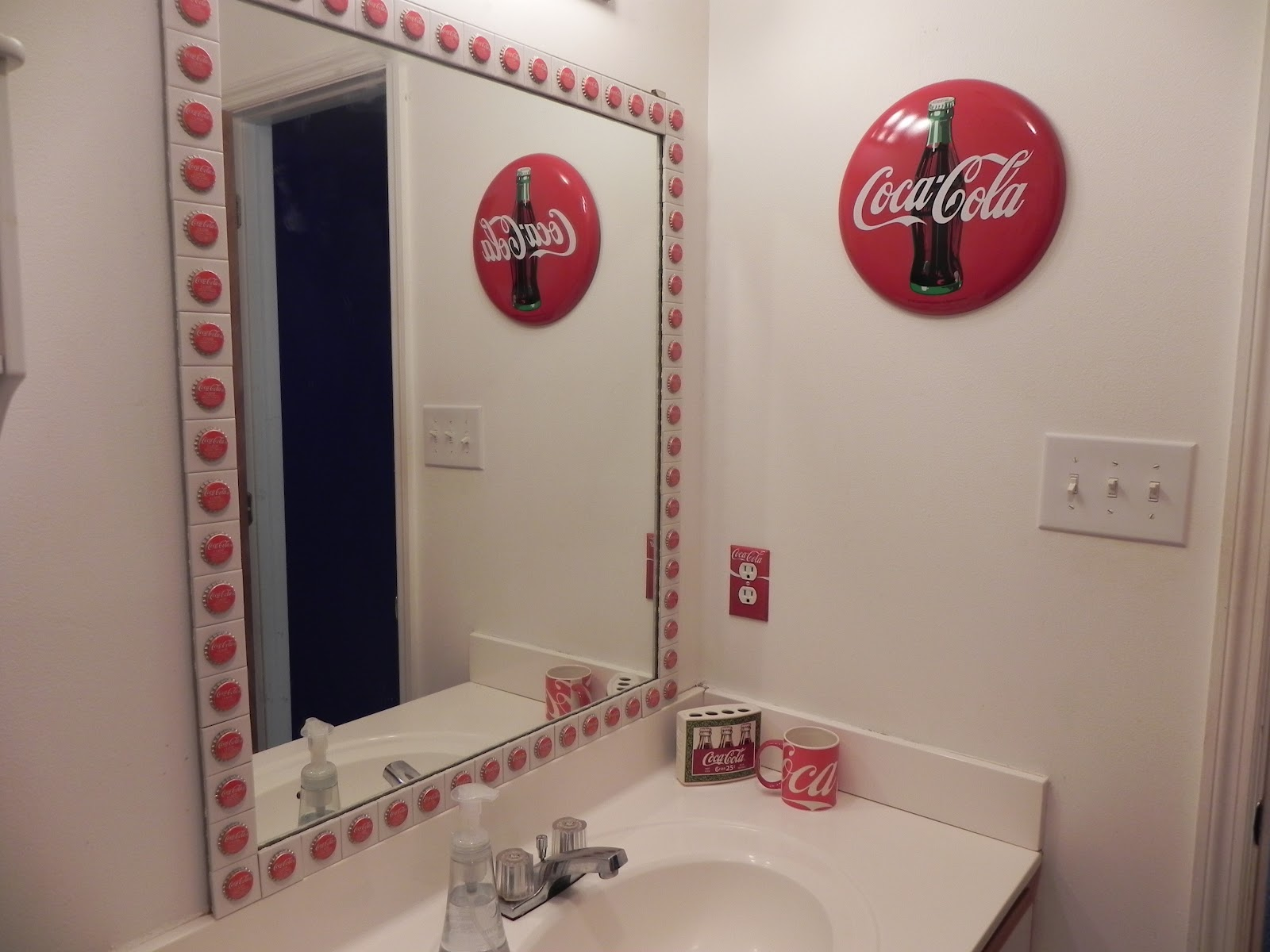 My Marine And Me Coca Cola Bathroom