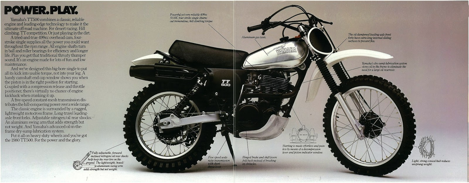 Yamaha Tt Specs