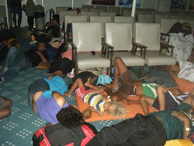 sleeping Fijians