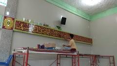Jasa Pembuatan Kaligrafi Masjid Sumatera Barat