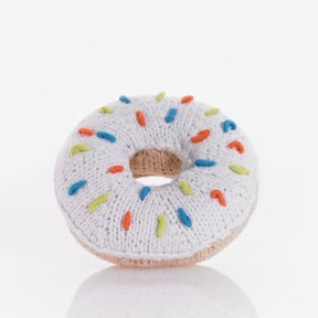 Pebble Toys Donut Rattle