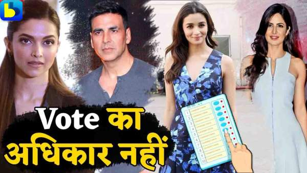 bollywood-stars-can-not-cast-vote-in-general-election-2019