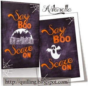 Free Say Boo Scare On Printable