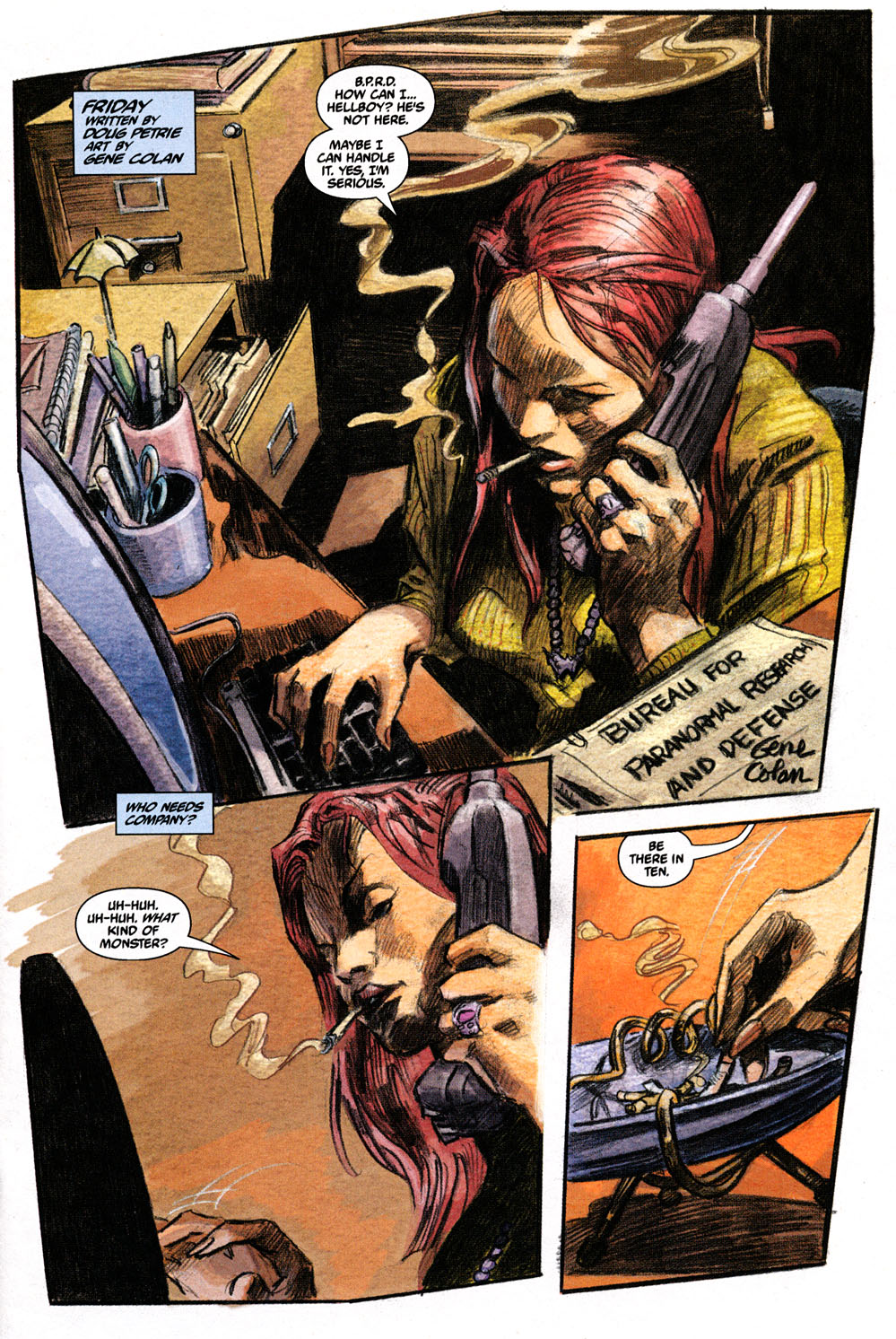 Read online Hellboy: Weird Tales comic -  Issue #6 - 11